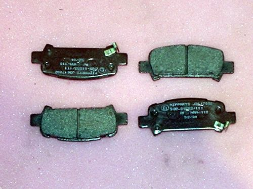 Brake pads, rear, Forester/Impreza/Legacy 1998 on